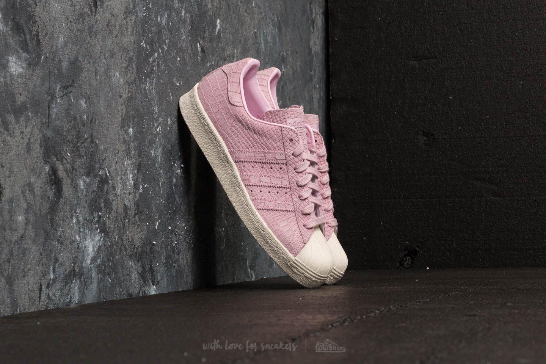 7bbac0f86 sale lyst footshop adidas superstar 80s w wonder pink wonder pink off 1534d  d9732