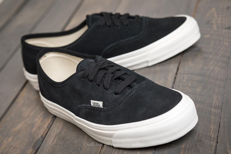 a439418e8b9d Lyst - Vans Og Authentic Lx (suede) Black in Black for Men