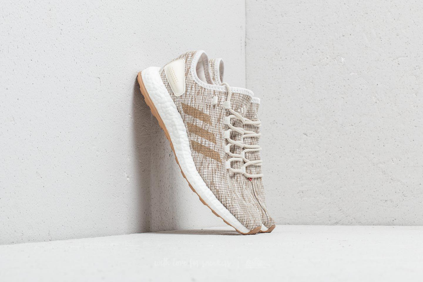 new arrival 0b155 829fc Lyst - adidas Originals Adidas Pureboost Raw Desert  Ftw White in ...