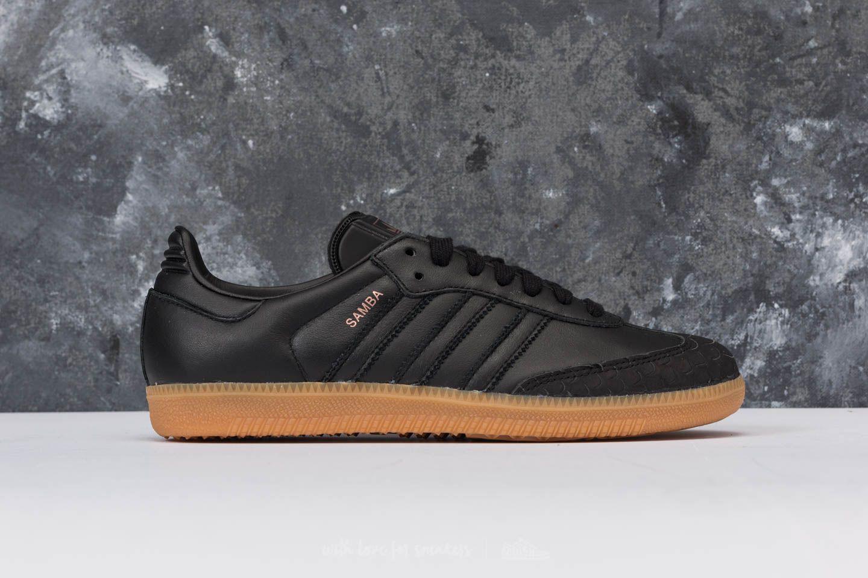 lyst adidas originali adidas samba w nucleo nero / nucleo nero / gomma 4