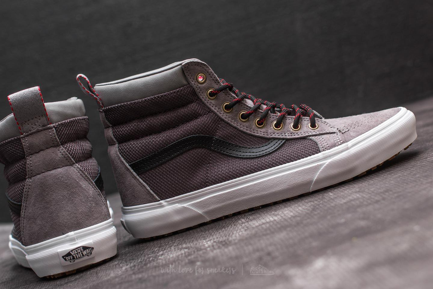 7aa69d2e9e Lyst - Vans Sk8-hi Mte Frost Gray  Ballistic in Gray for Men