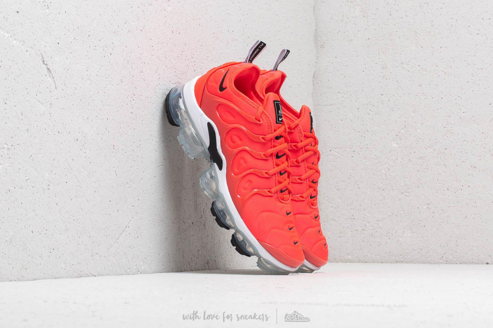 f3af9a4d09ded Lyst - Nike Air Vapormax Plus Bright Crimson  Black-white in Red for Men