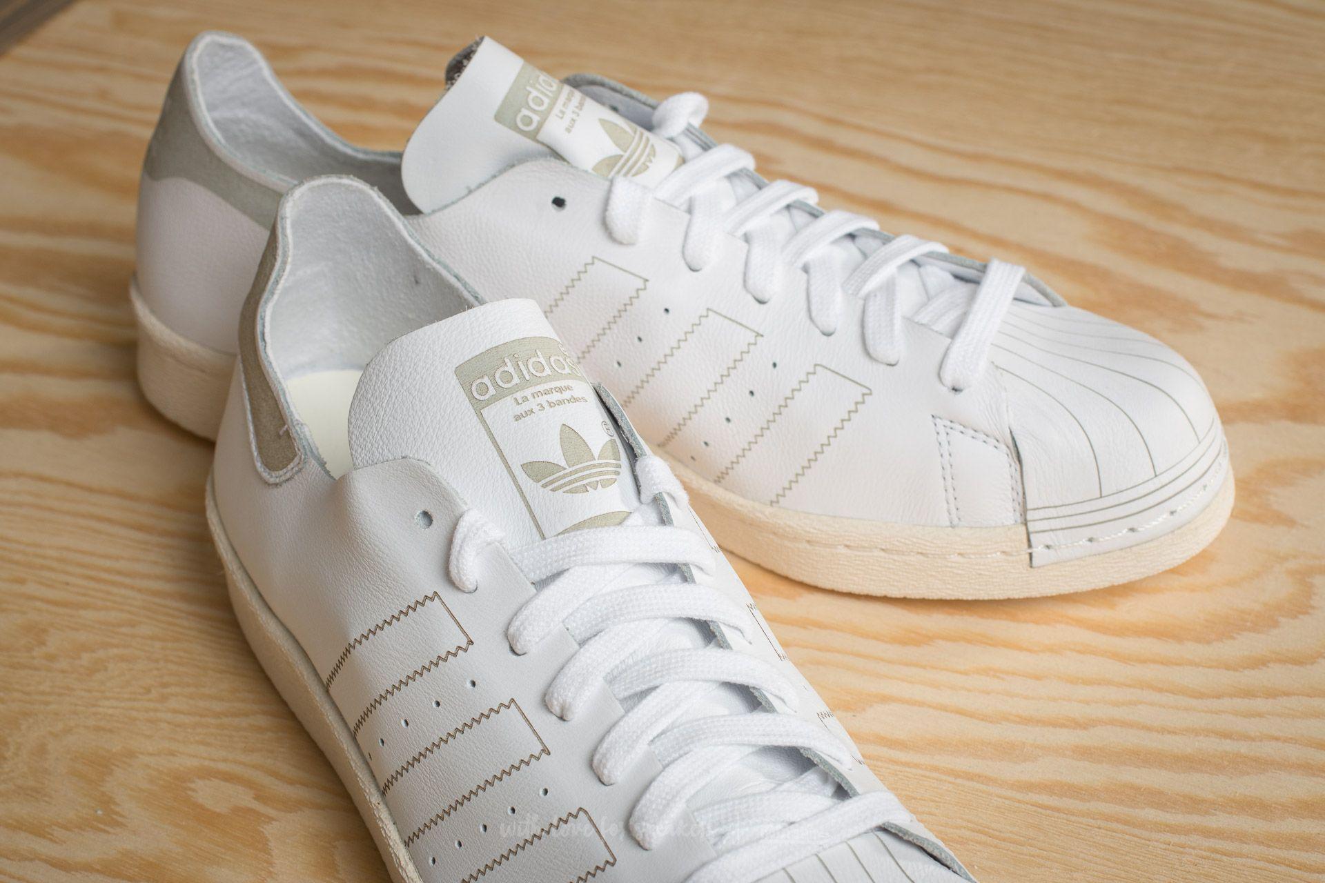 adidas Superstar 80's decon Unisex Beyaz Sneaker