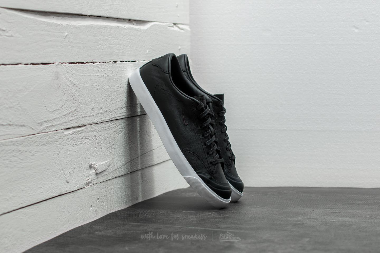4ec3b4e35e Lyst - Nike All Court 2 Low Leather Black  Black-white in Black for ...