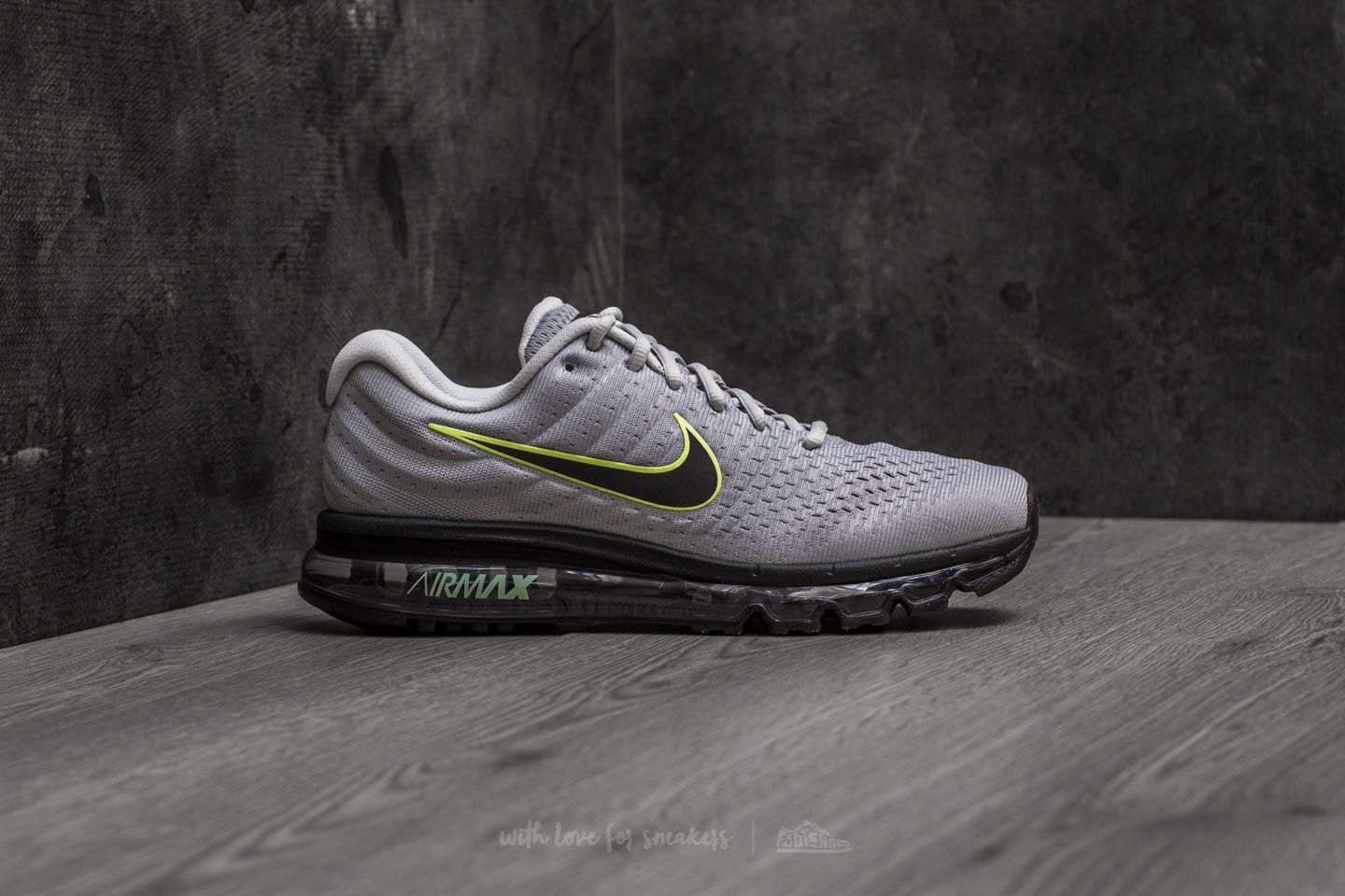 new style 212a6 4ebd9 Nike Air Max 2017 Wolf Grey  Black-pure Platinum in Gray for Men - Lyst