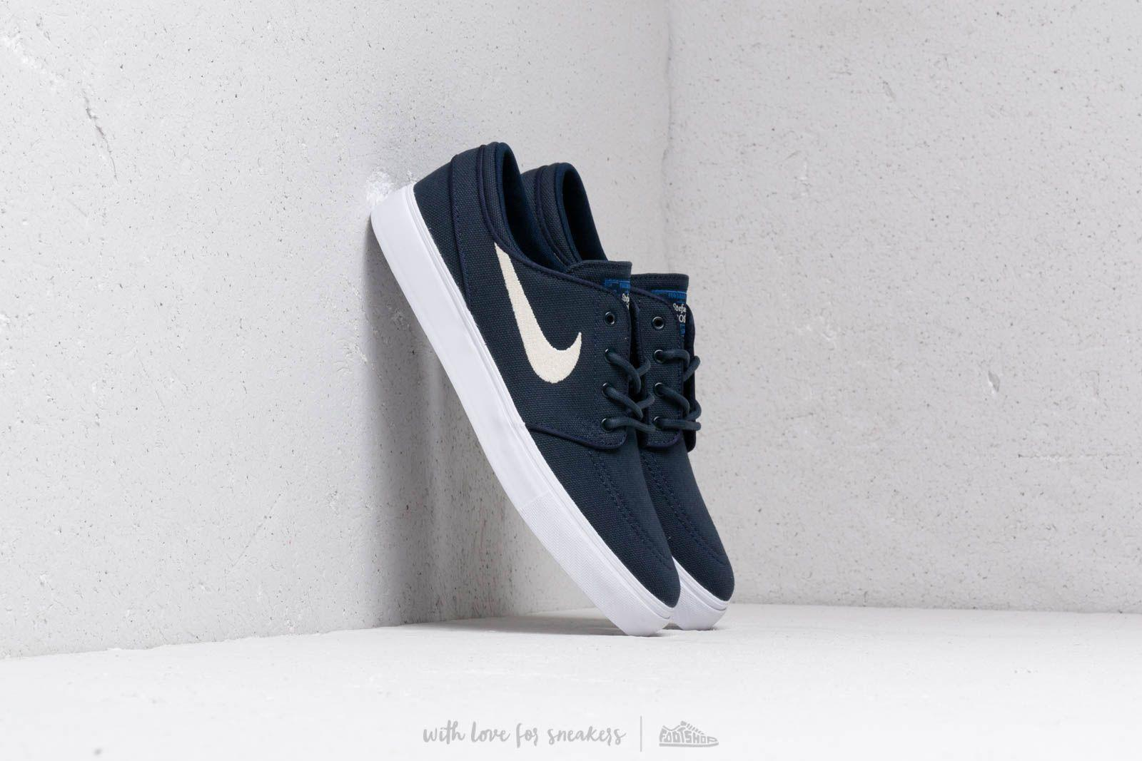 low priced e9d30 8ebc6 Nike Stefan Janoski (gs) Obsidian  Light Cream-white in White - Lyst