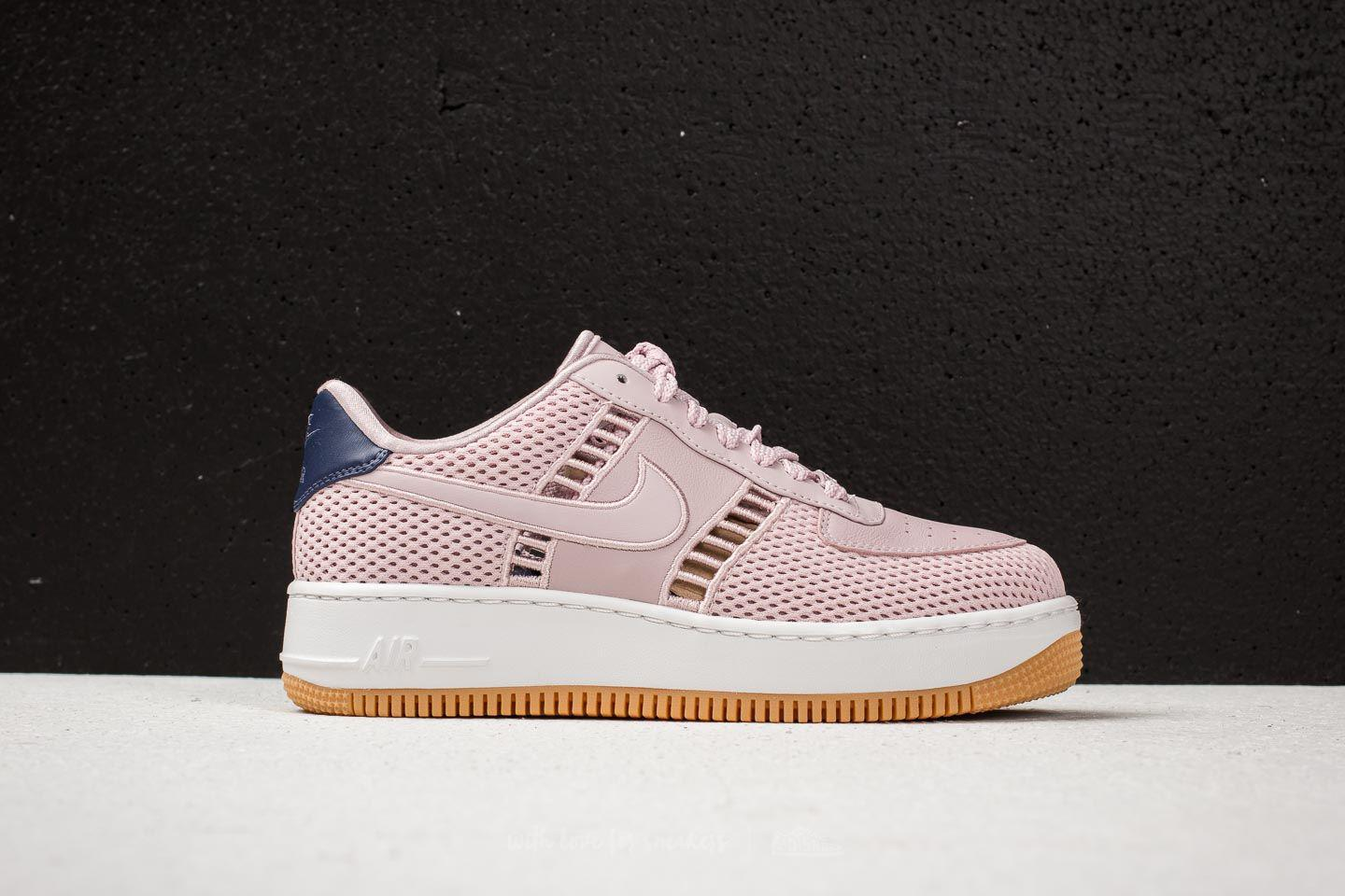 42af333f4b54 Lyst - Nike W Air Force 1 Upstep Si Particle Rose  Particle Rose