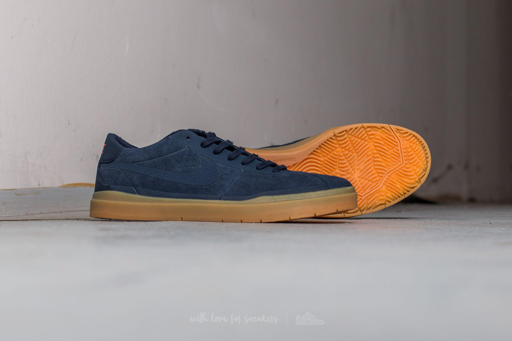 6a7f3e7e5dd6 Lyst - Nike Sb Bruin Hyperfeel Obsidian  Gum Light Brown  Max Orange ...