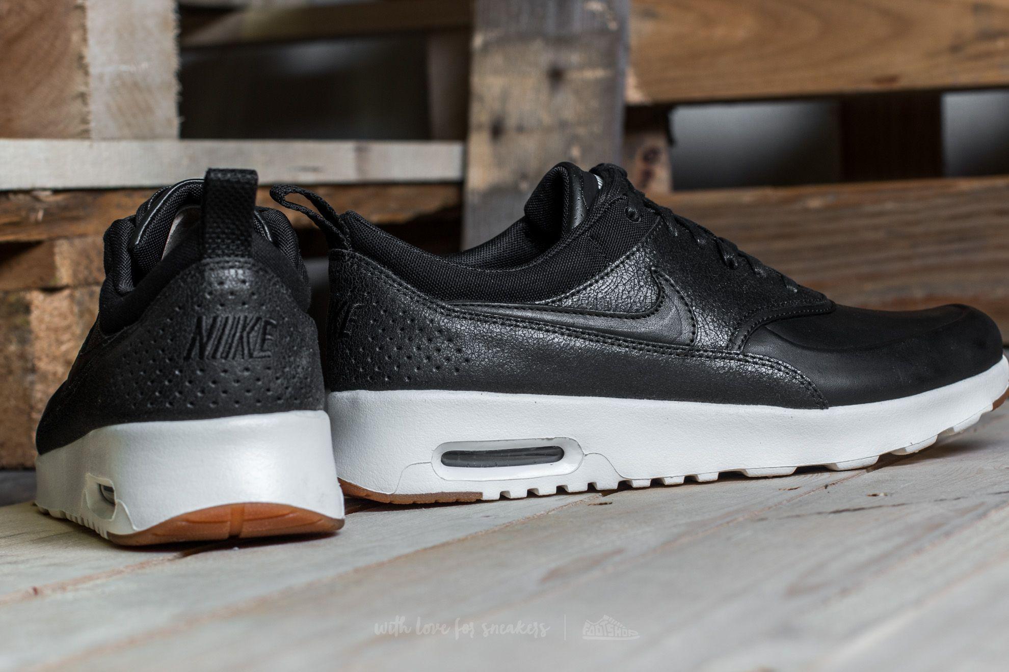 buy popular d6efa 6f3f7 Nike Wmns Air Max Thea Premium Black  Black-sail-gum Medium Brown in ...