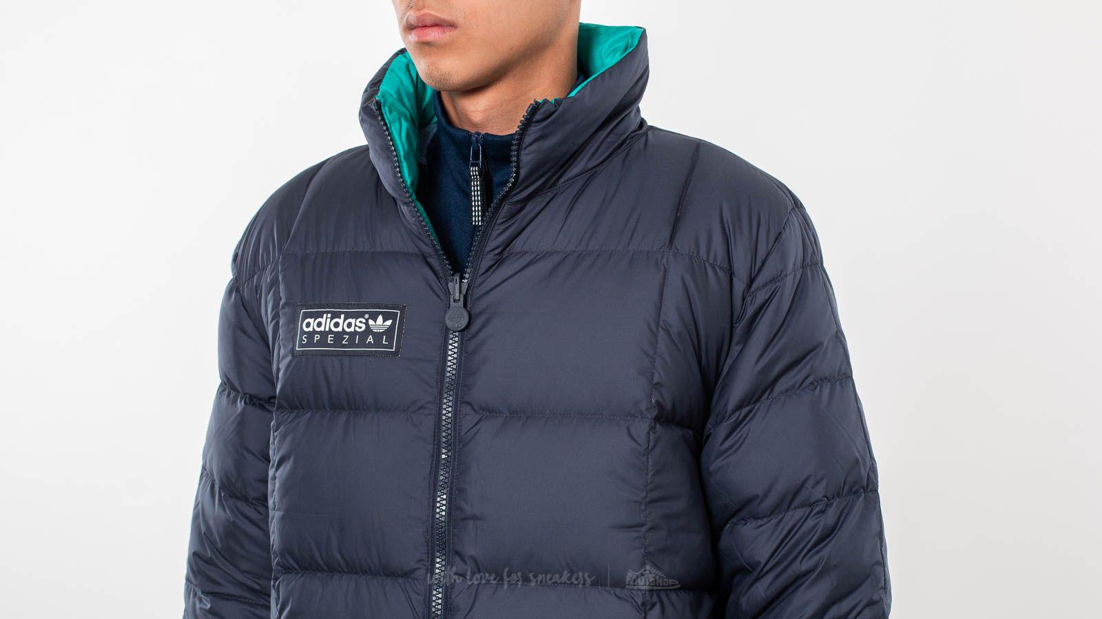 5a6ea935cb04 Lyst - adidas Originals Carnforth Reversible Puffer Jacket Night ...