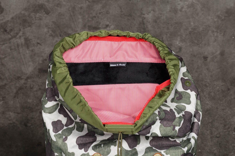 e6a1cc48679 Lyst - Herschel Supply Co. Little America Backpack Frog Camo  Tan