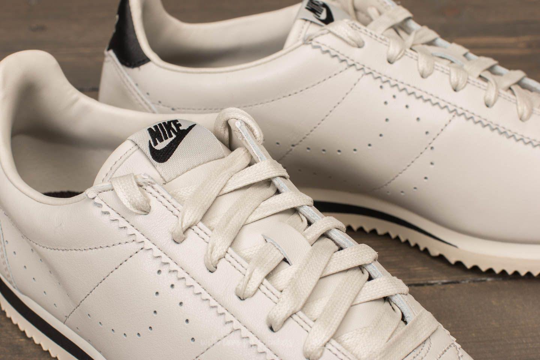 Nike - Classic Cortez Leather Premium Light Bone/ Light Bone-black for Men  -. View Fullscreen