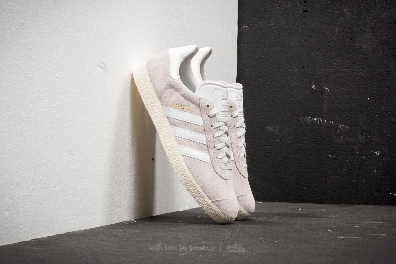 a113eab9518a2e Lyst - adidas Originals Adidas Gazelle Crystal White  Ftw White ...