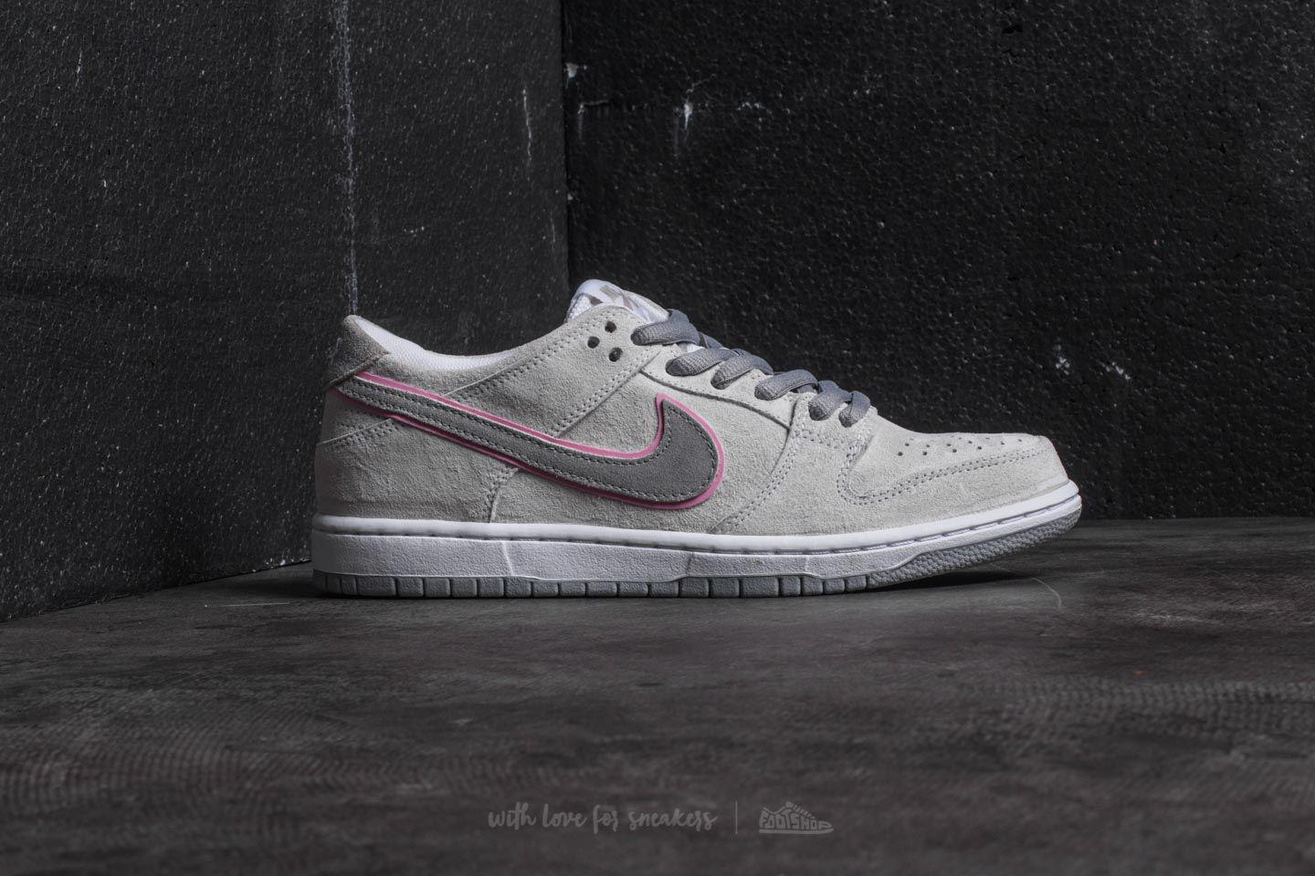 check out 67da6 fce12 Nike Sb Zoom Dunk Low Pro Iw White  Perfect Pink-flt Silver for Men ...