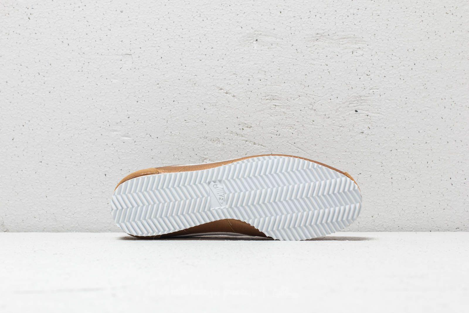 best service 5169f 7f59e Lyst - Nike Wmns Classic Cortez Nylon Muted Bronze  White