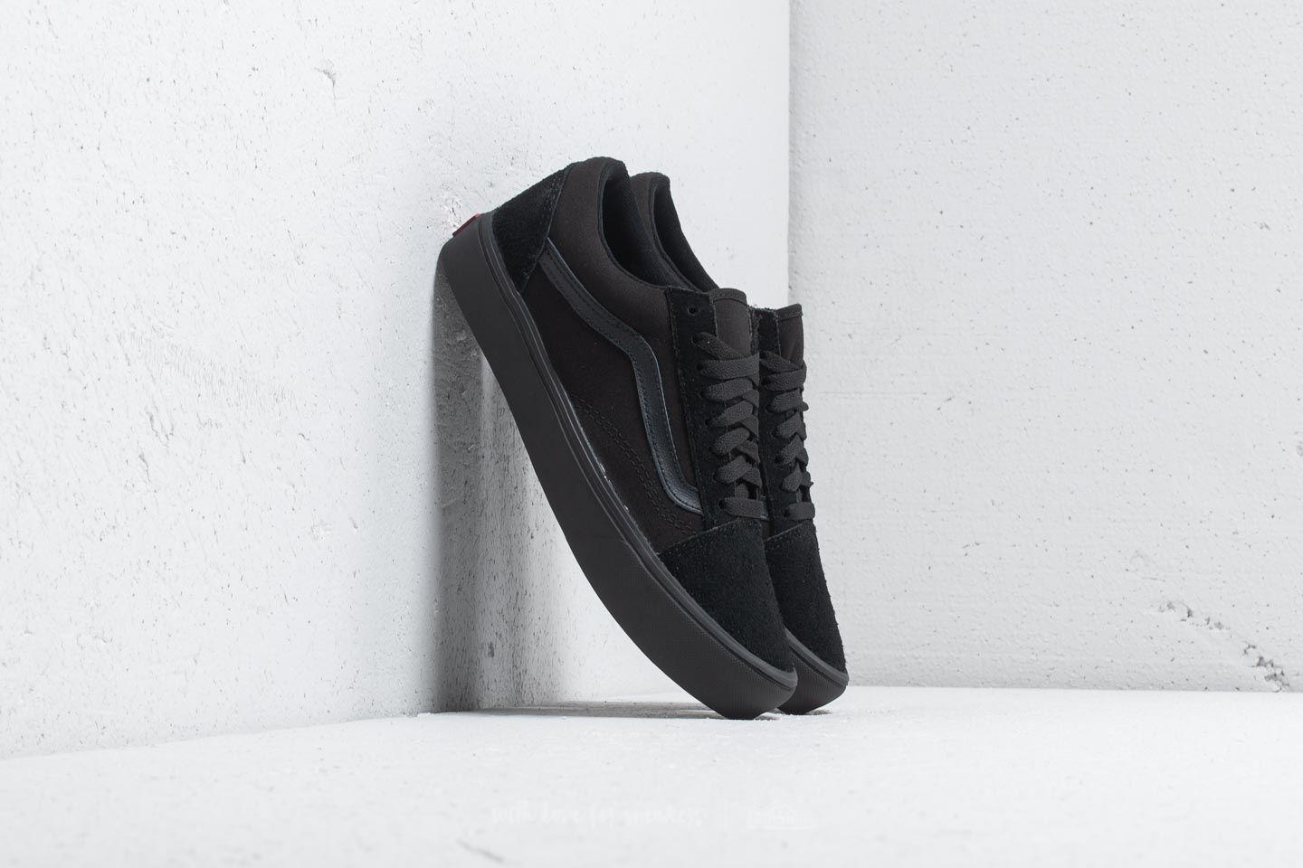 Lyst Vans Old Skool Lite (suede Canvas) Black In For Men