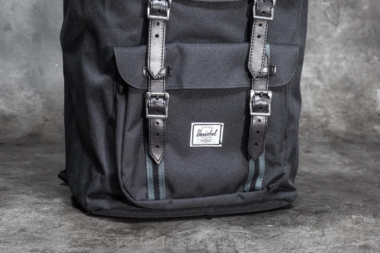 67a0cf416d Lyst - Herschel Supply Co. Little America Backpack Black  Dark ...