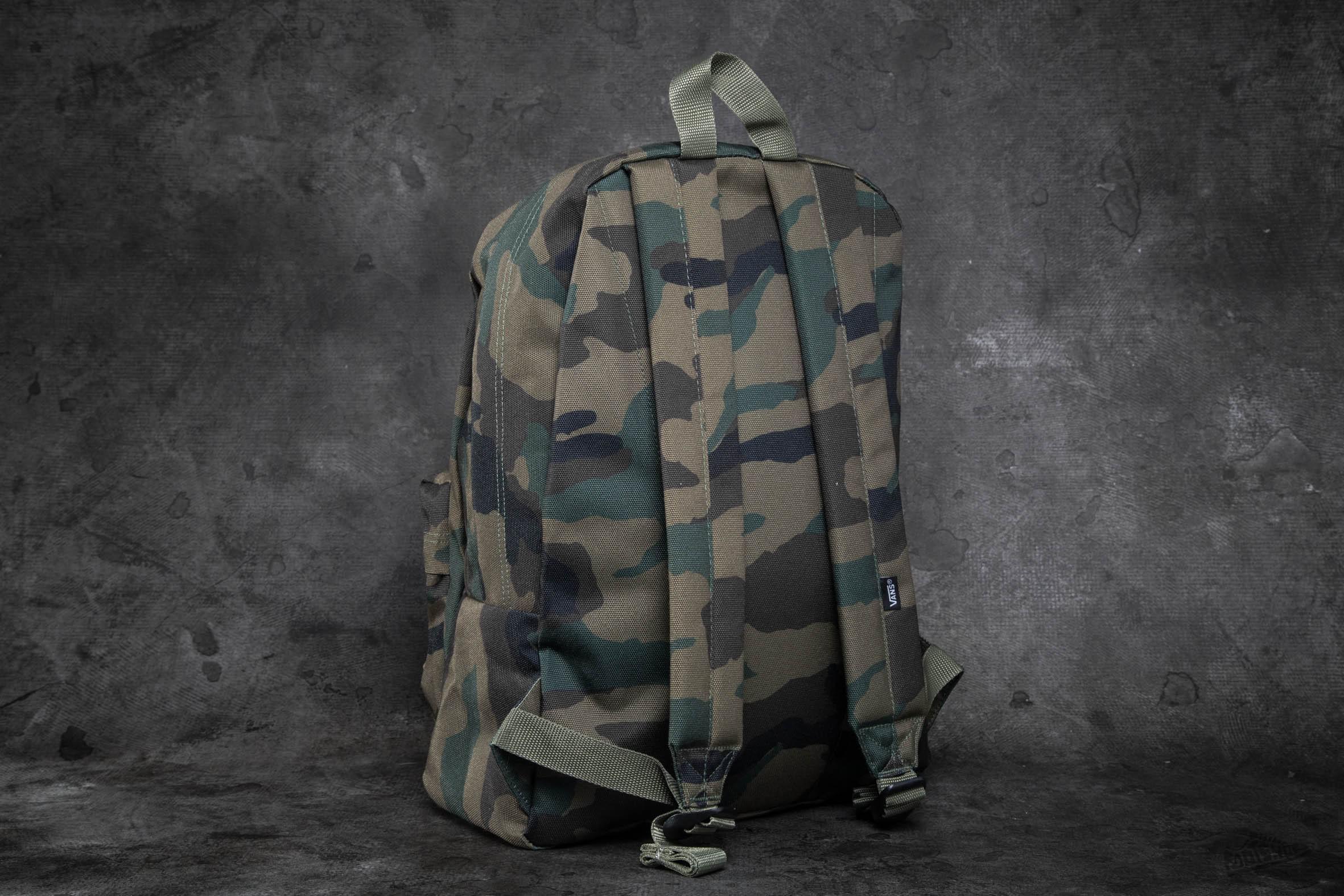 4341dab5dc Lyst - Vans Old Skool Ii Backpack Classic Camo in Gray for Men