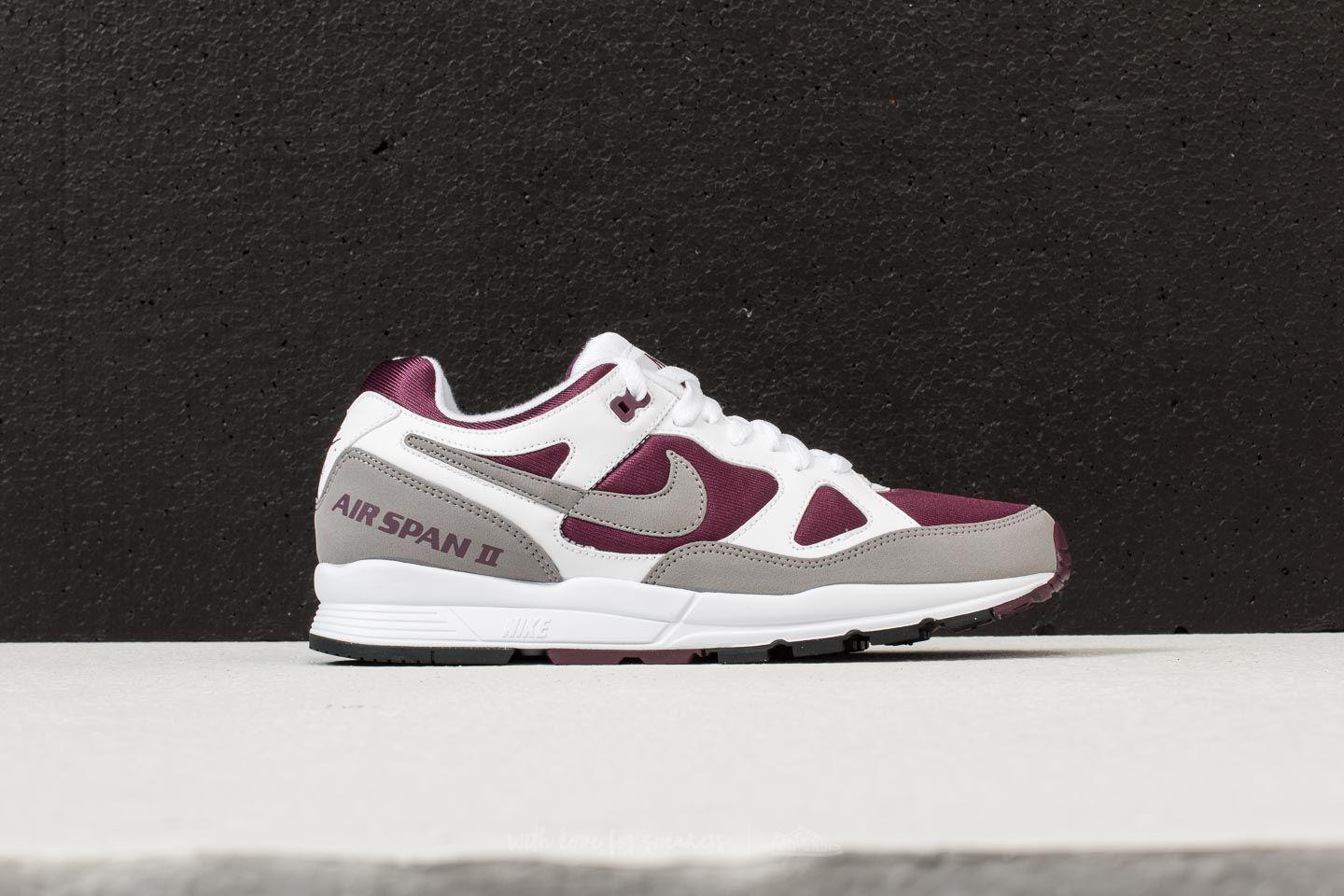 newest 785a9 61f2b Lyst - Nike Air Span Ii White  Dust-bordeaux-black in Black for Men