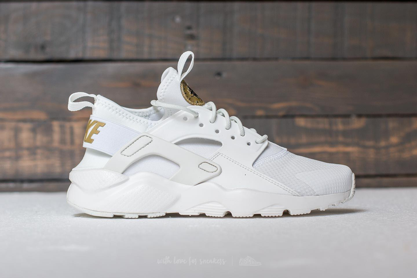 a22598e94a455 Lyst - Nike Air Huarache Run Ultra Gs Summit White  Metallic Gold in ...