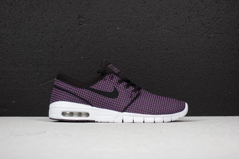 Nike SBSTEFAN JANOSKI MAX - Trainers - black/pro purple/white 54m6W