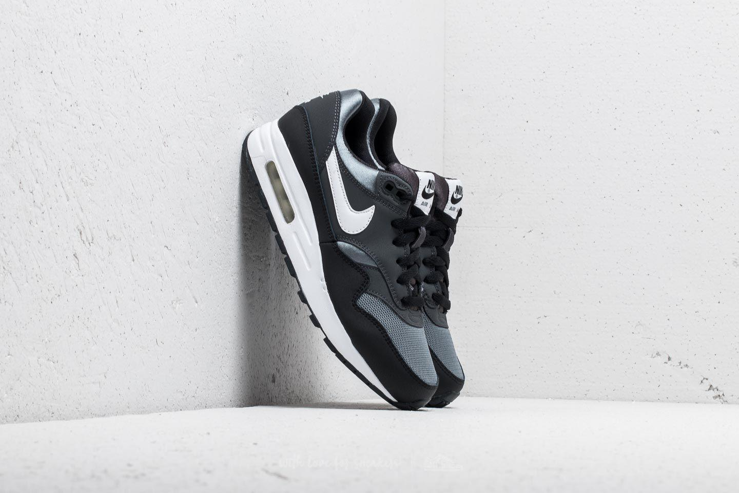 Lyst - Nike Air Max 1 (gs) Black  White-anthracite in Black e257e6028f