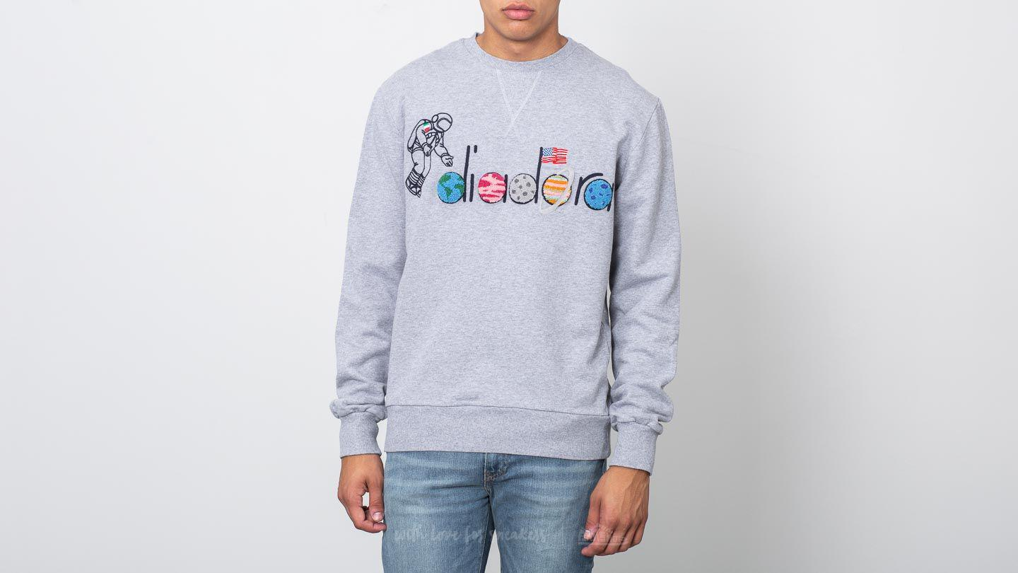 Lyst - Footshop Diadora X Lc23 Spaceman Sweater Light Middle Grey ... f15a30d6811