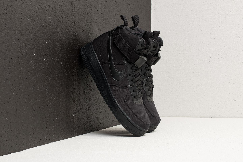 Nike Air Force 1 High '07 Canvas Black/ Black-Anthracite Costo Precio Barato Enchufe De Fábrica De La Venta Buscando Barato Tienda De Venta Barata De Colecciones De Venta Baratos a9Dp55