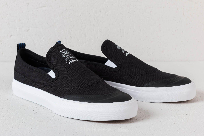 low priced 61a0c ee170 Lyst - adidas Originals Adidas Matchcourt Slip Core Black Ft