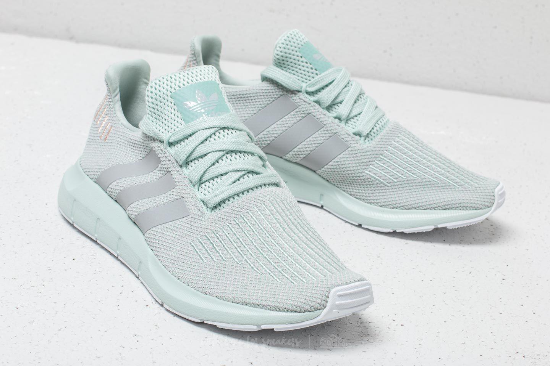 2bd3949f1db Lyst - adidas Originals Adidas Swift Run W Vapour Green  Grey Two ...