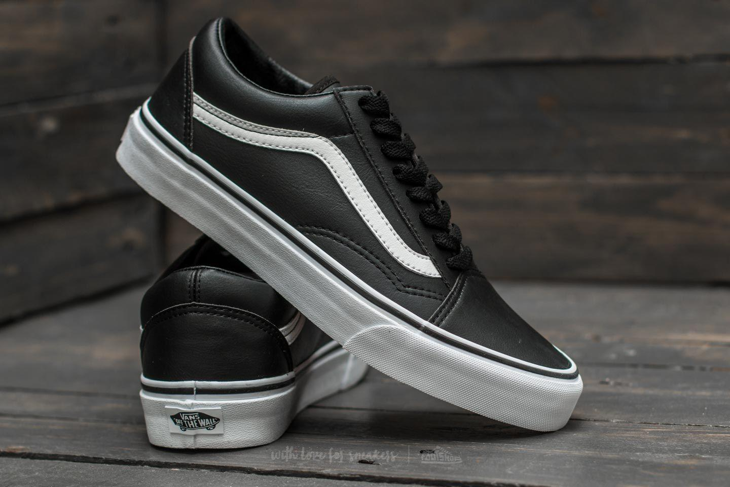 248c8eb096 Lyst - Vans Old Skool (classic Tumble) Black  True White in Black ...
