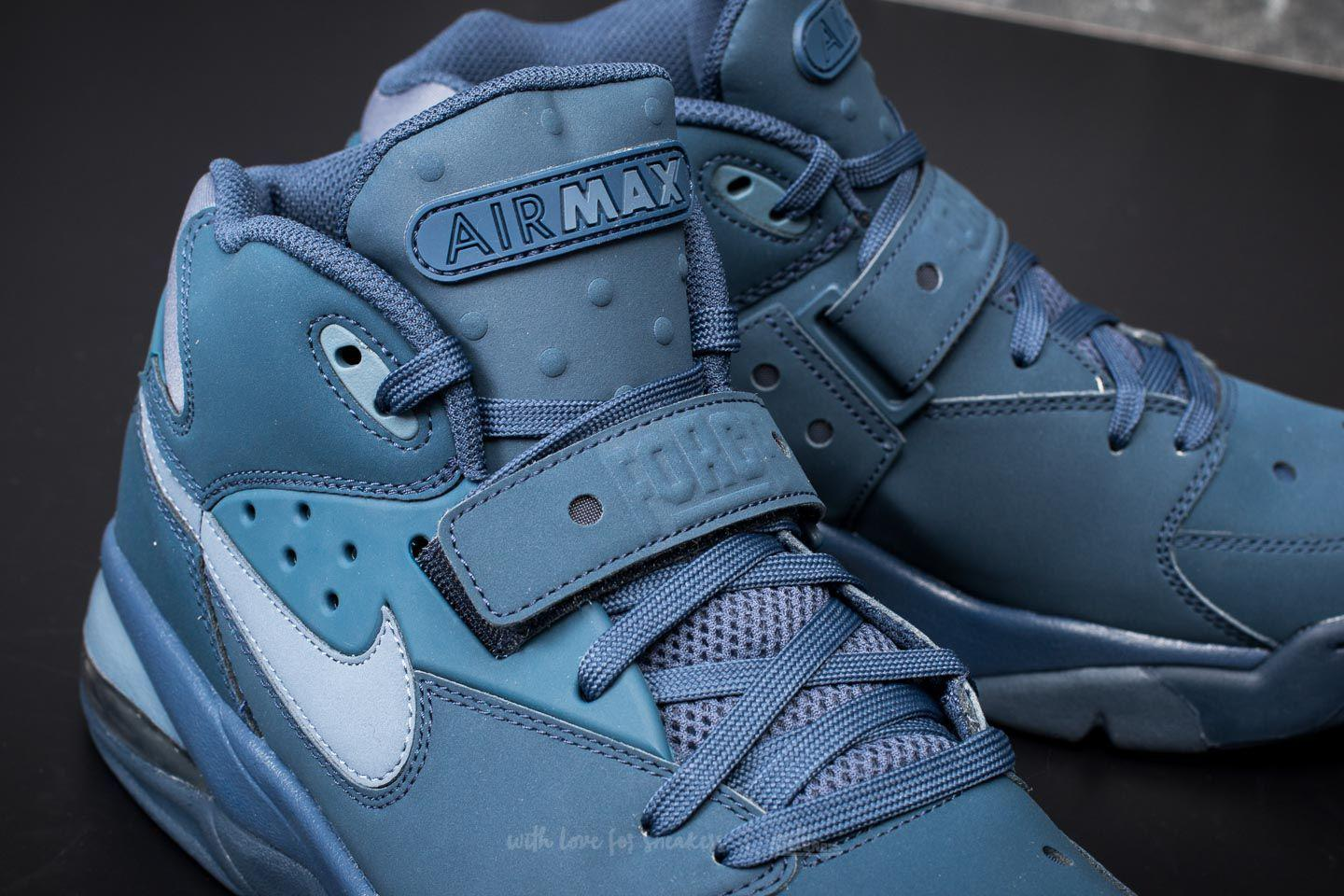 1dc13c90ef Nike Air Force Max Navy/ Diffused Blue in Blue for Men - Lyst