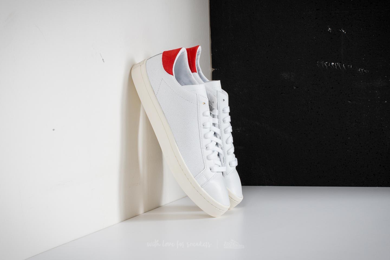 adidas Adidas Courtvantage Ftw / Ftw / Red mnakgj