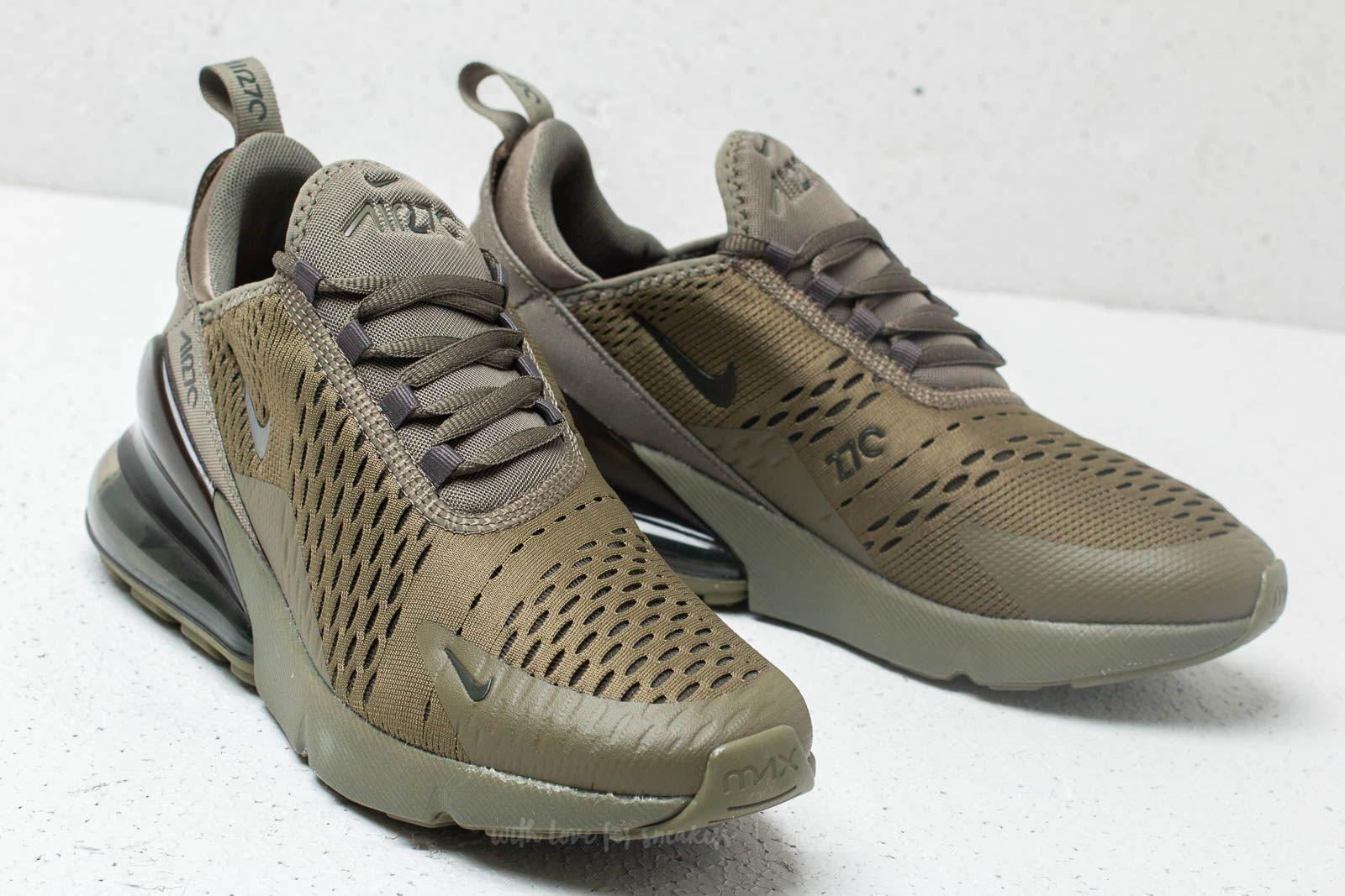sale retailer 613e8 95483 Nike Air Max 270 (gs) Medium Olive  Newsprint in Green - Lyst