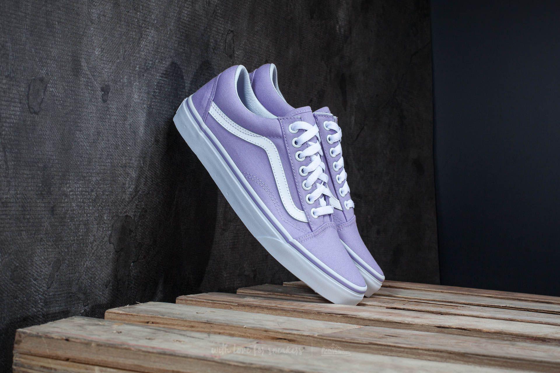 vans old skool lavender