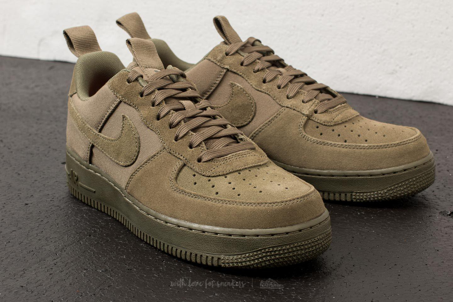 a69d88b535 Nike Air Force 1 ́07 Canvas Medium Olive/ Medium Olive in Green for ...