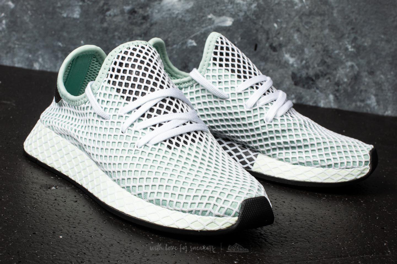 75c61ed28e6e8 Lyst - adidas Originals Adidas Deerupt Runner W Ash Green ash Green ...