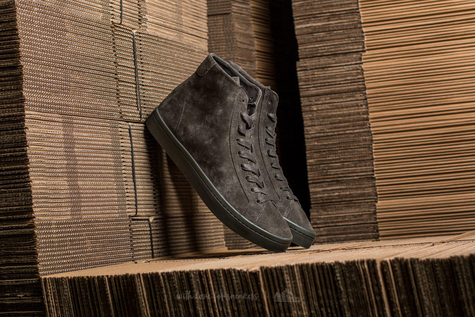 Lyst - adidas Originals Adidas Courtvantage Mid Utility Grey ... 062fca4cb
