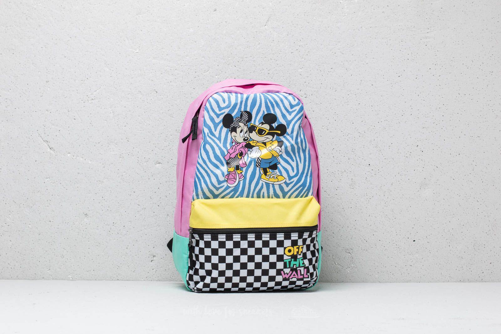 ede6ff10a22e Lyst - Vans X Disney Hyper Minnie Backpack Pink