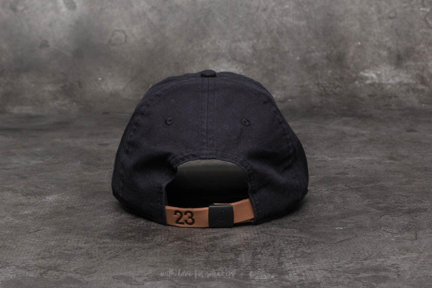 e611e572427 ... discount code for lyst nike h86 jumpman washed cap black in black for  men b877f 5ba20