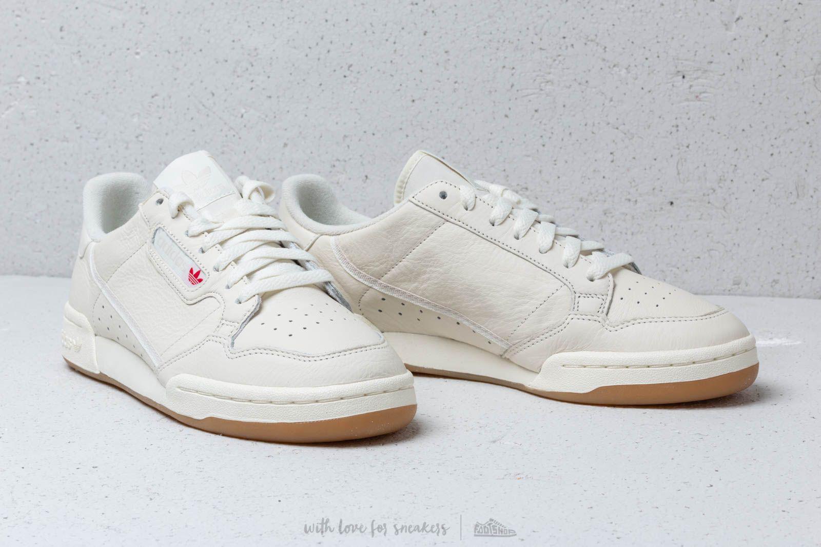 Adidas Originals - Adidas Continental 80 Off White  Raw White  Gum for Men  -. View fullscreen c4593e57d