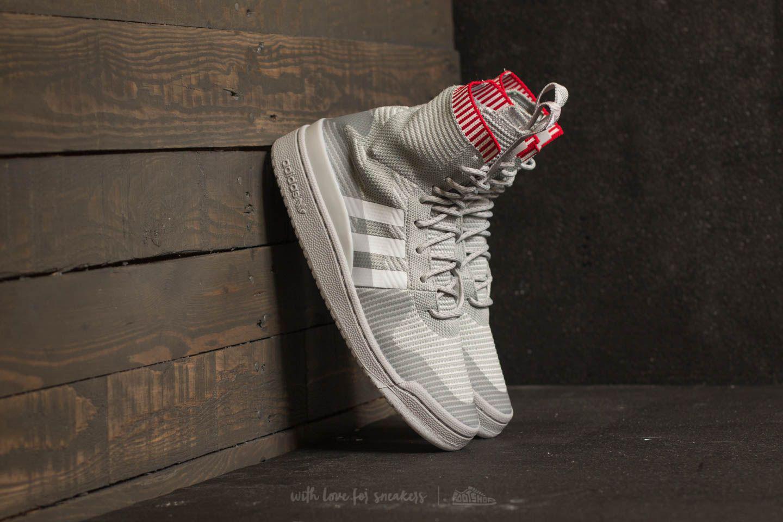 4164b4620 Lyst - adidas Originals Adidas Forum Winter Primeknit Grey Two  Ftw ...