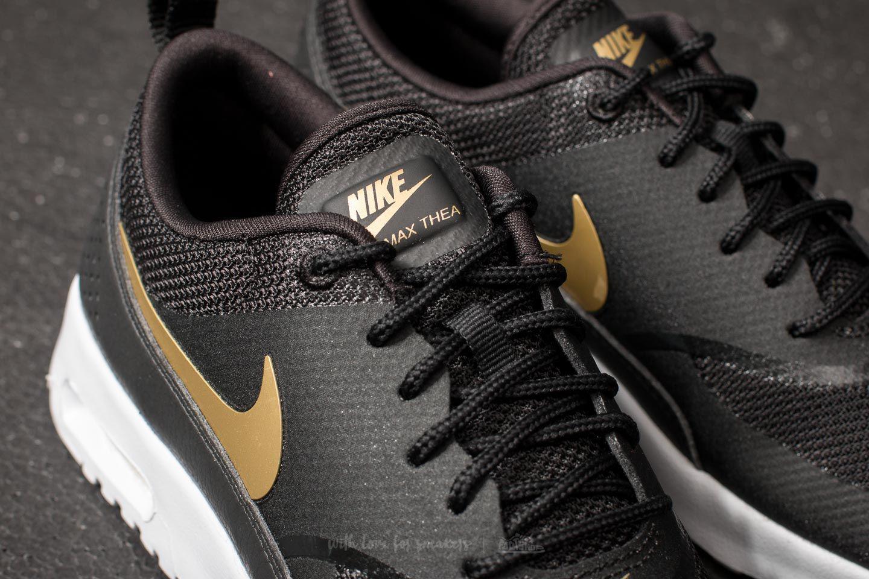 619115ad50e Lyst - Nike Wmns Air Max Thea J Black  Metallic Gold-white in Metallic
