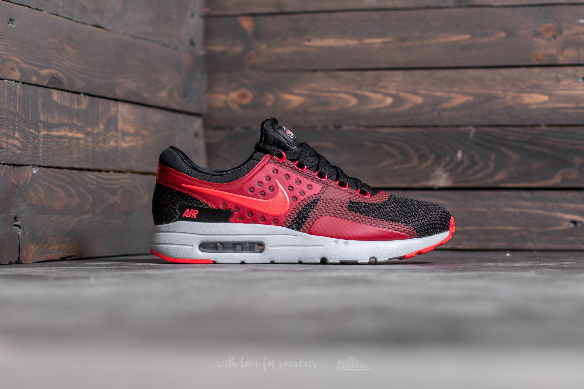 Lyst - Nike Air Max Zero Essential Black  Bright Crimson-gym Red for Men 759f723c6
