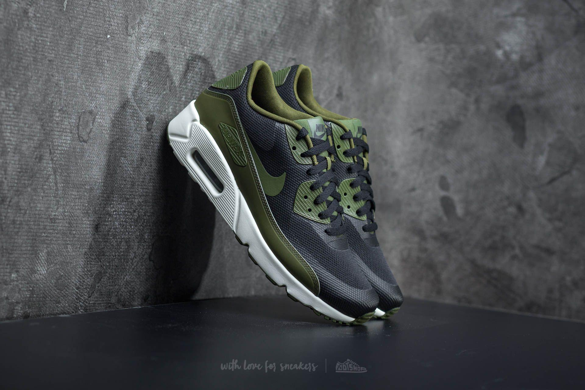 the latest 92061 6f874 ... promo code for lyst nike air max 90 ultra 2.0 essential black legion  green sail cbda8