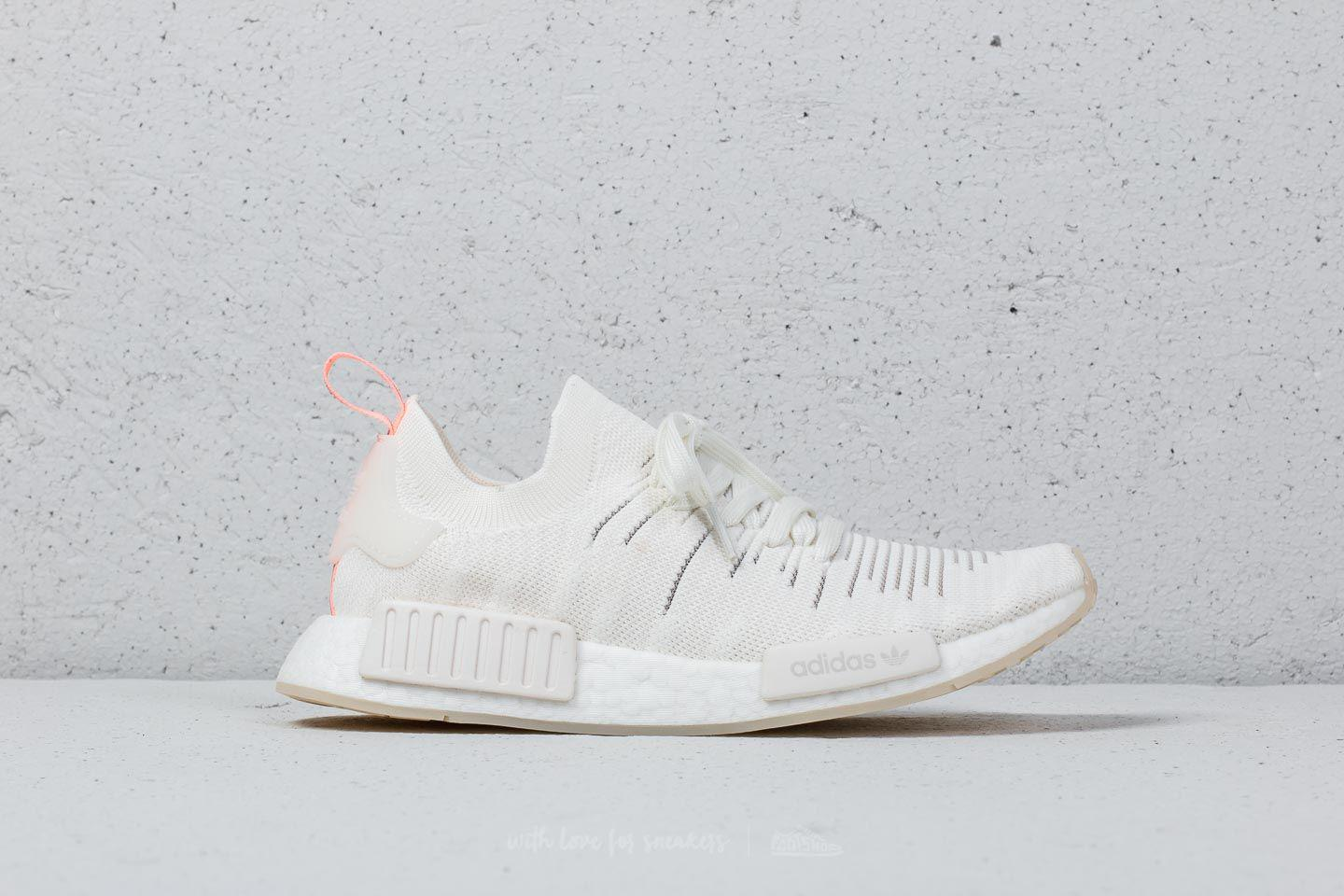 in stock c21a5 1f93d adidas Originals Adidas Nmd r1 Stlt Primeknit W Cloud White  Cloud ...