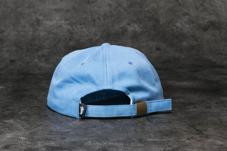 9870eb1031f Lyst - Stussy S Logo Pigment Strapback Cap Light Blue in Blue for Men