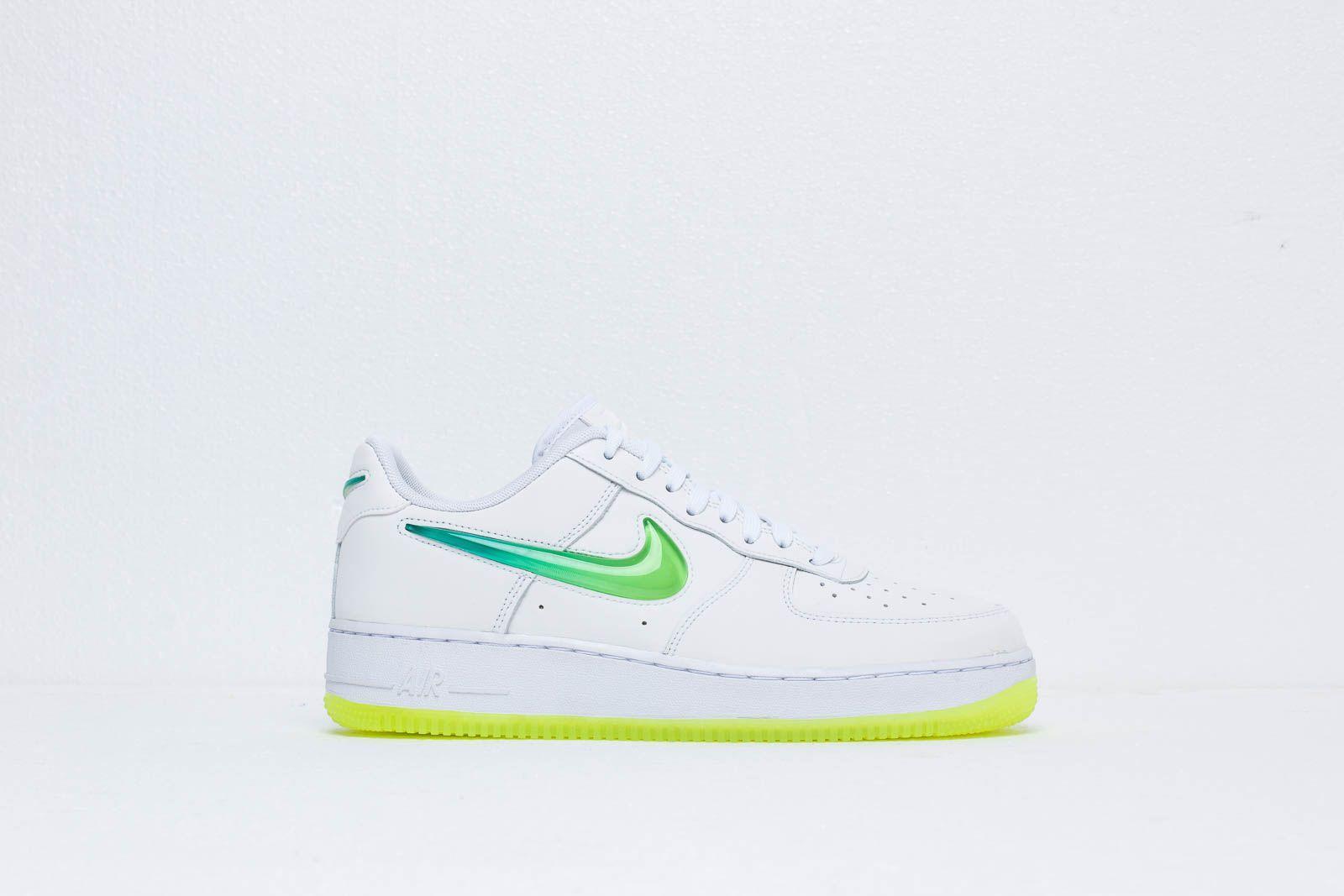 9527c0b3b2f4a Nike Air Force 1 '07 Prm 2 White/ Volt-hyper Jade in White for Men ...