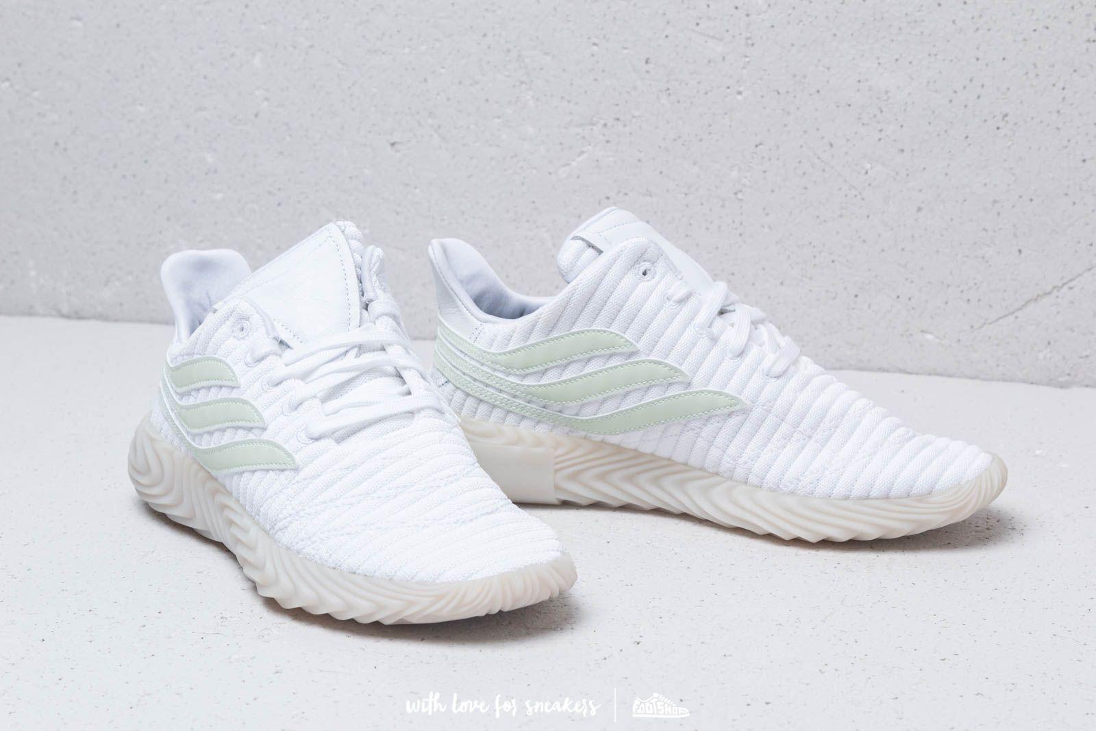 official photos 391b5 7cd37 Adidas Originals - Adidas Sobakov Ftw White Aero Green Crystal White for  Men -. View fullscreen