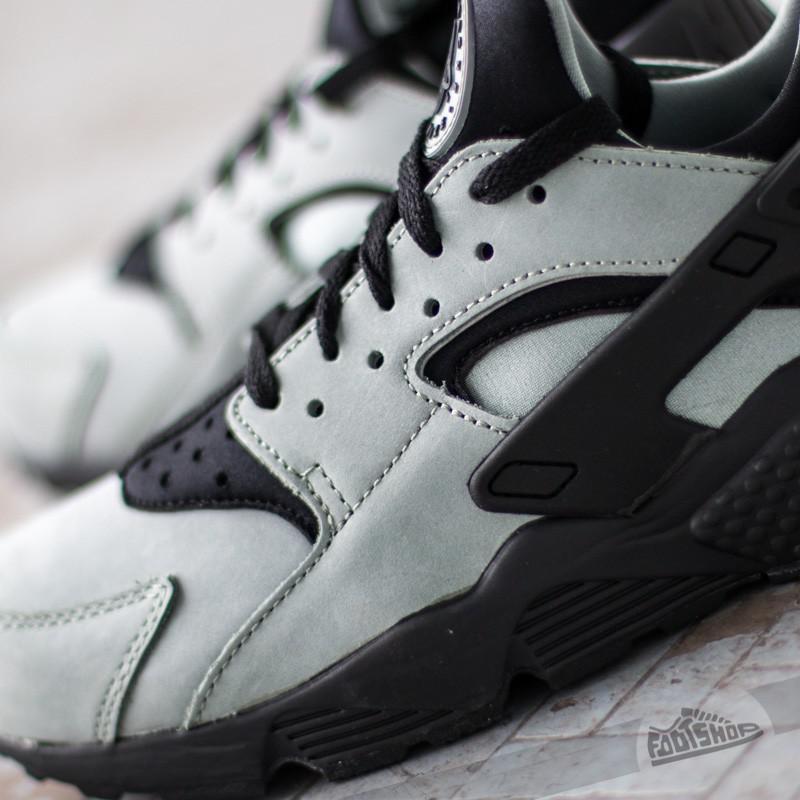 b6ad034aaab956 Lyst - Nike Air Huarache Run Premium Mica Green  Black in Black for Men